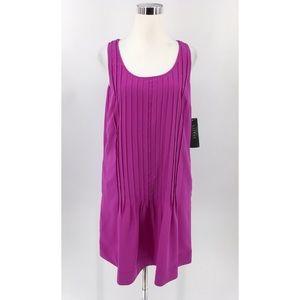 Lauren Ralph Lauren NWD Pink Pleated Dress Sz-10